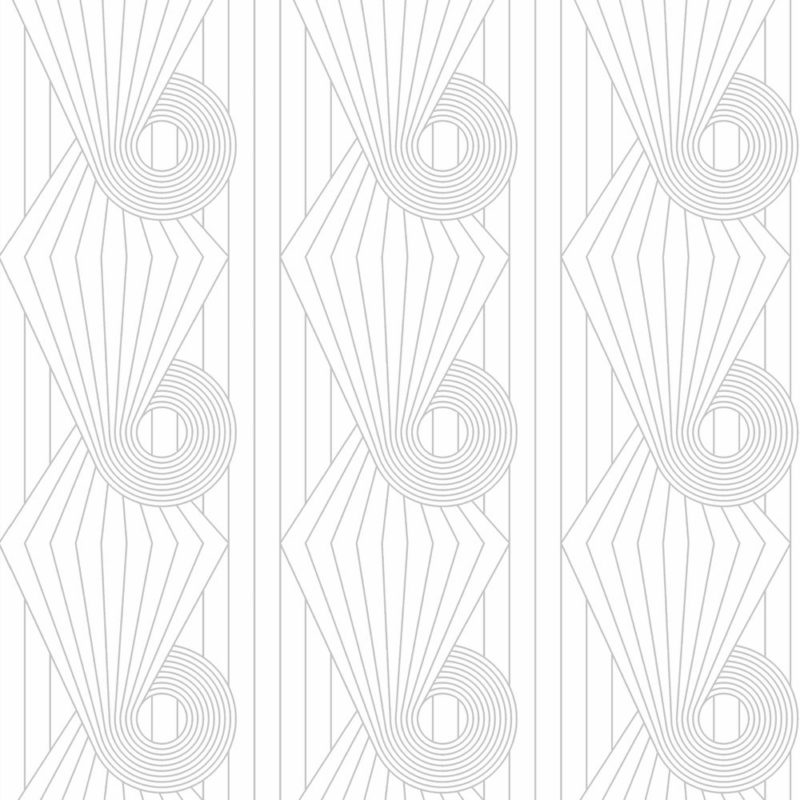 Minispiral grey white wallpaper