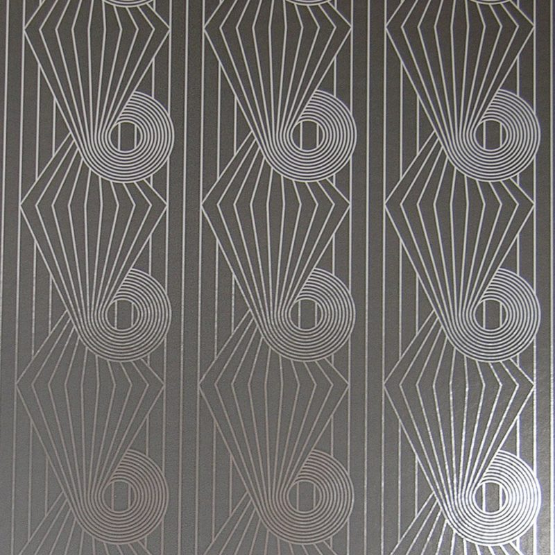 Minispiral silver grey wallpaper
