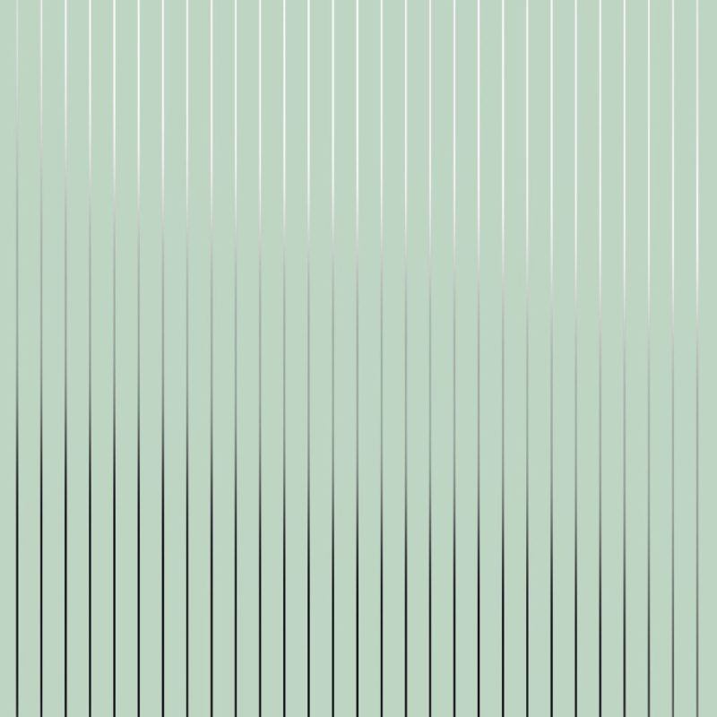 Pinstripe silver green stripe wallpaper