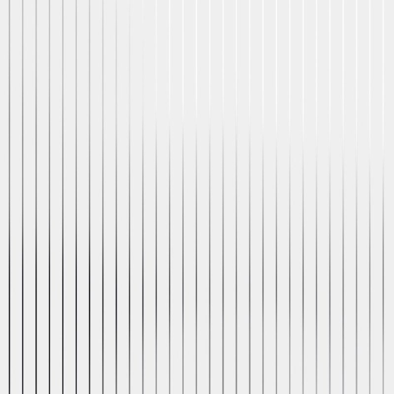 Pinstripe silver white striped wallpaper