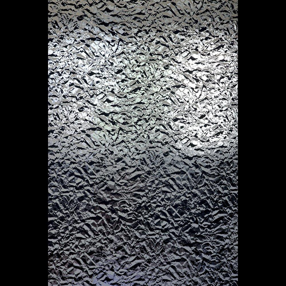 3D Effect Silver Wallpaper