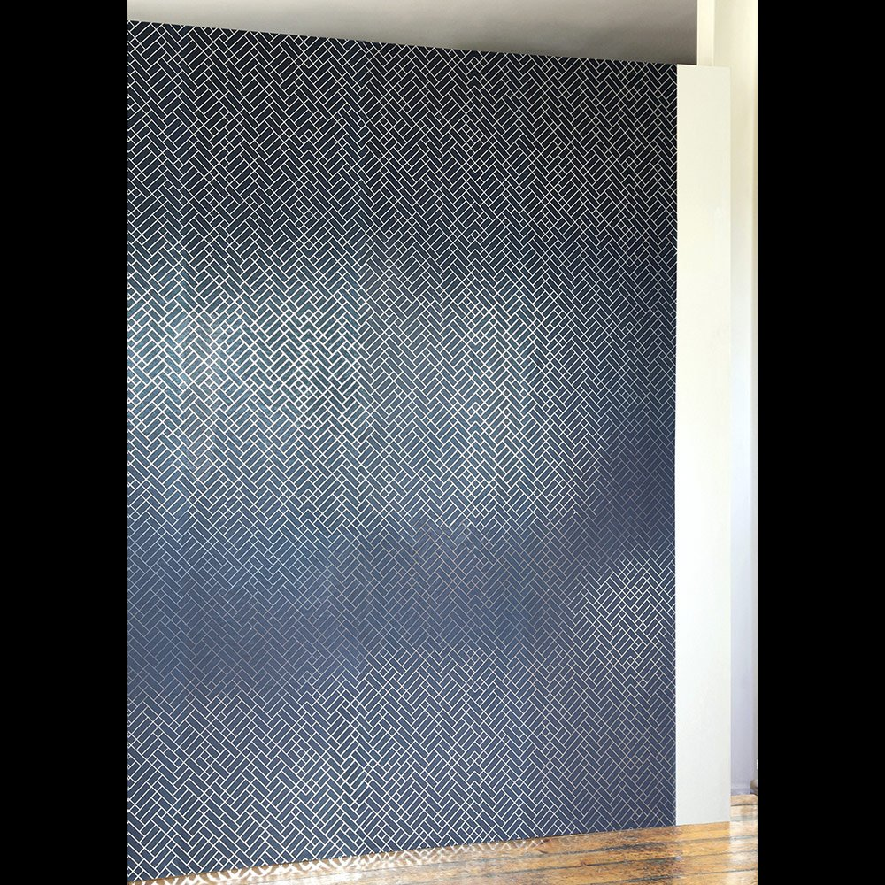 Navy Blue And Silver Wallpaper Tapet