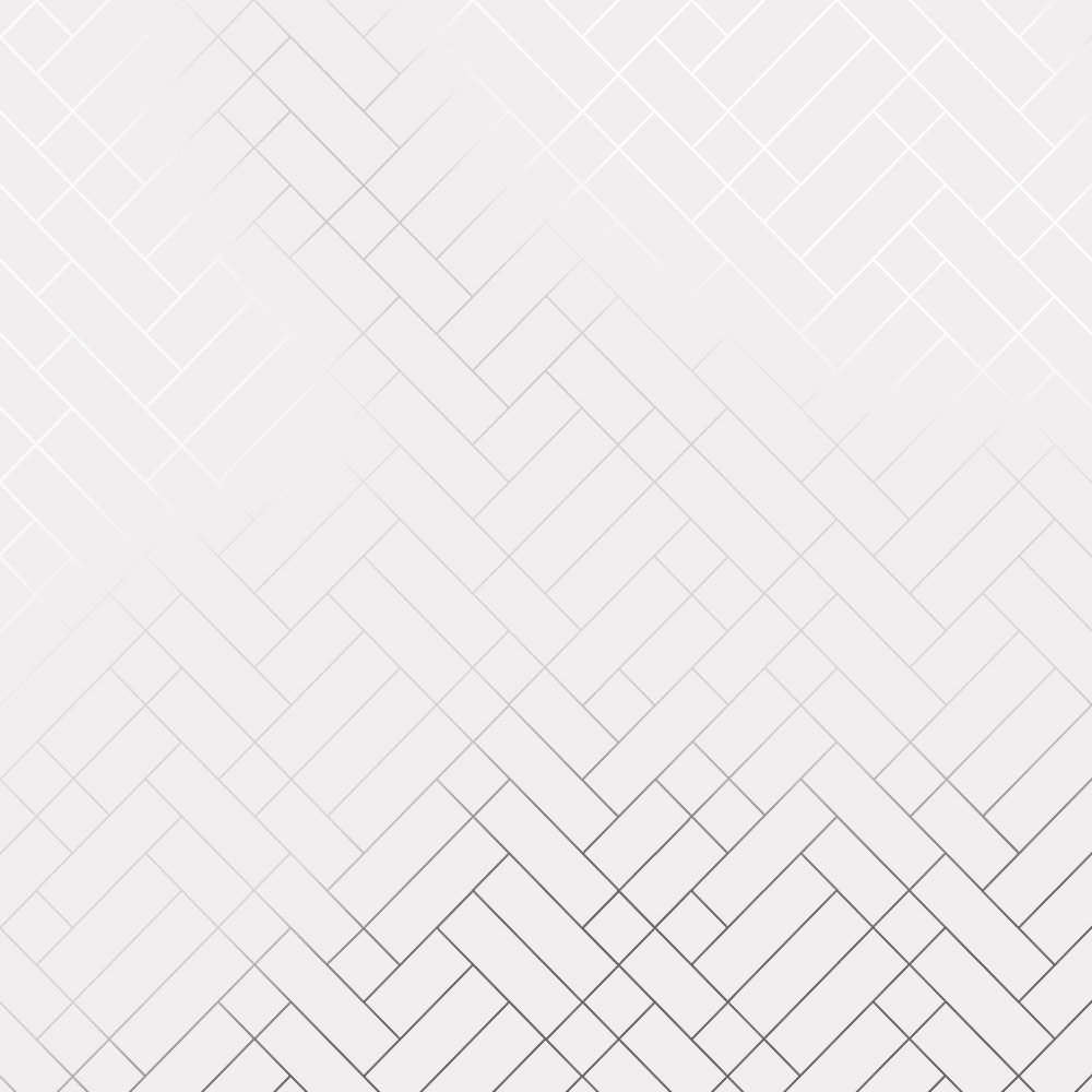 Tapet Cafe Tile silver white brick wallpaper