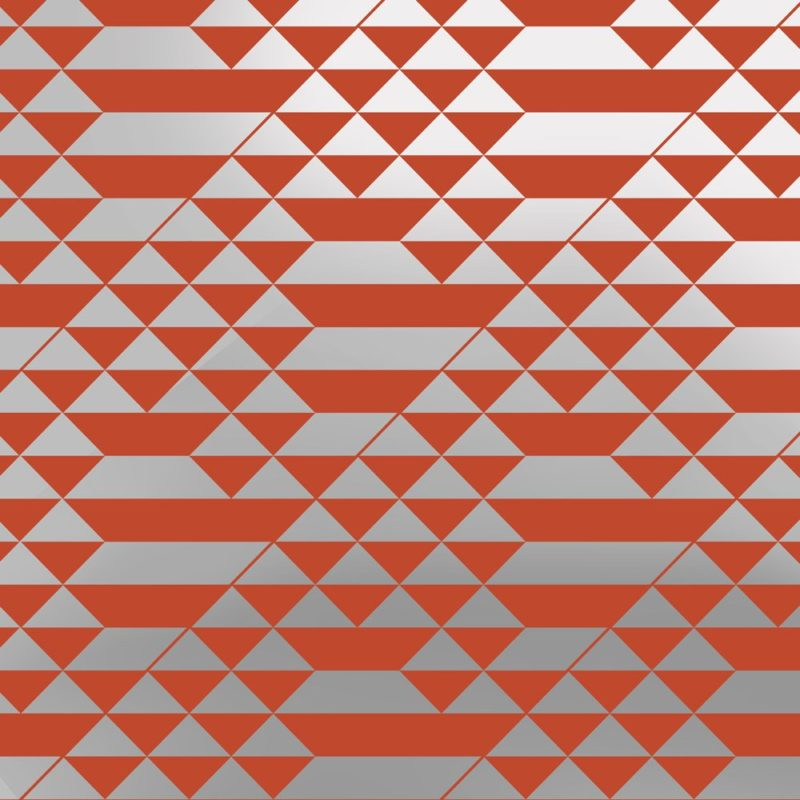 Teepee silver orange wallpaper