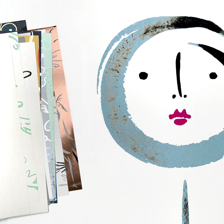 Polly Dunbar Decoration wallpaper samples