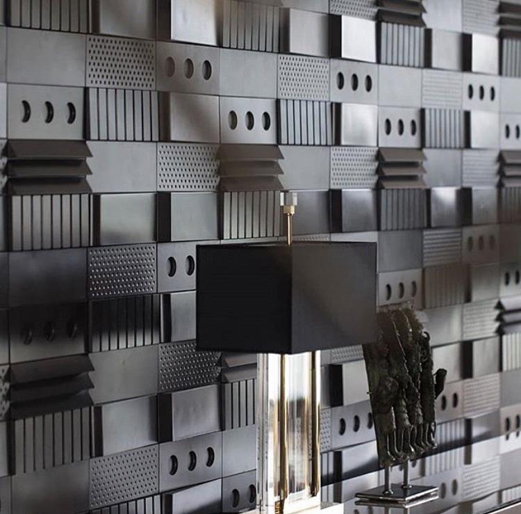Form tiles - interior design by Milla Alftan